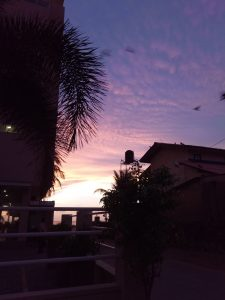 Couché de soleil Negombo Sri Lanka