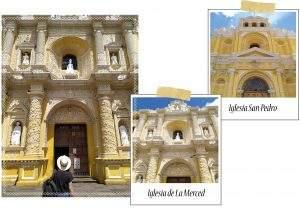Eglise de Le Merced et Eglise San Pedro